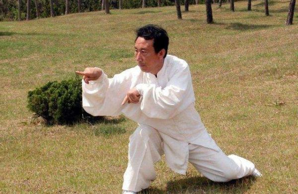 Image d'un pratiquant de Tang Lang Quan