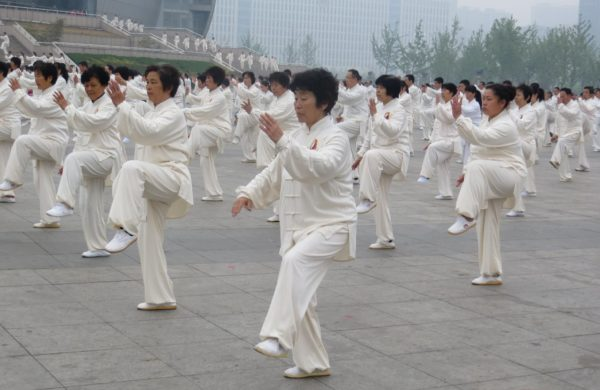 Photographie de pratiquants de Tai Chi Chuan